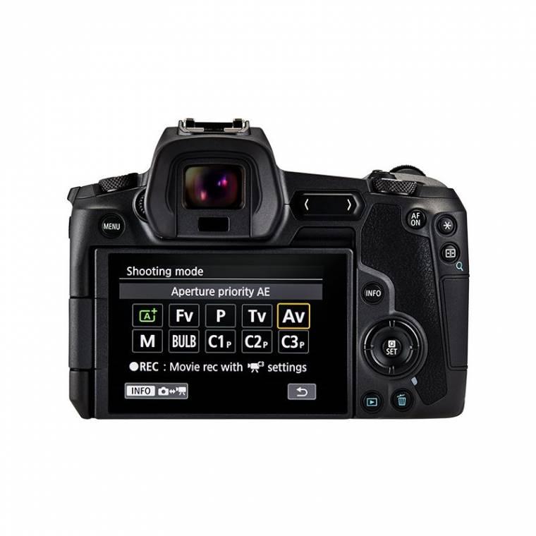 Pantalla Canon EOS-R